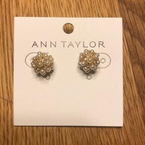 Never worn with tags Ann Taylor Statement Earrings